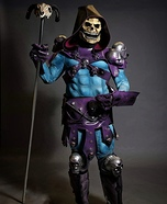 Skeletor Homemade Costume