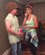 Skittles Pox Commercial Homemade Costume