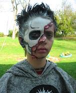 Skull Half Face Costume