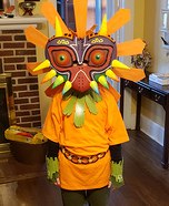 Skull Kid Homemade Costume