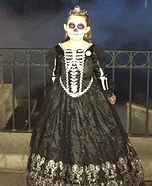Skull Princess Homemade Costume