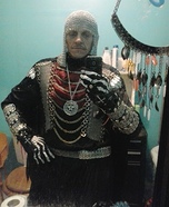Skull Warrior Homemade Costume