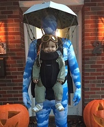 Skydiver Baby Homemade Costume