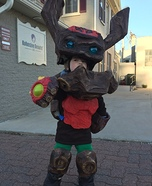 Skylander Tree Rex Homemade Costume