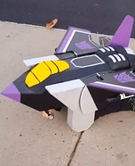 Skywarp Transformer Homemade Costume