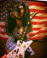 Slash Dog Homemade Costume