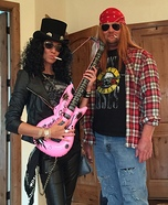 Slash n' Axl Homemade Costume