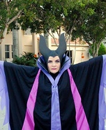 Sleeping Beauty Maleficent Homemade Costume
