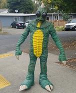 Sleestack Homemade Costume