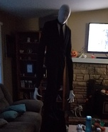 Slender Man Homemade Costume