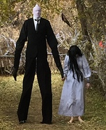 Slender Man and his Proxy Homemade Costume