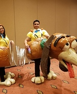 Slinky Dog Homemade Costume