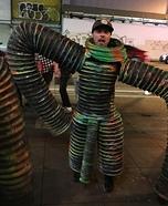 Slinky Man Homemade Costume