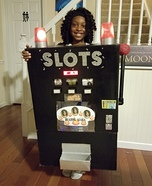 Slot Machine Homemade Costume