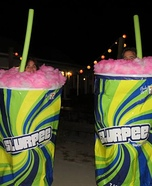 Slurpee Homemade Costume