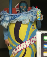 Slurpee Cup Homemade Costume