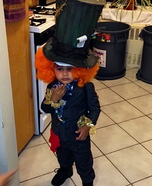 Smallest Mad Hatter Homemade Costume