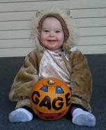 Smiley Lion Baby Costume