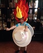 Smoke Detector Costume