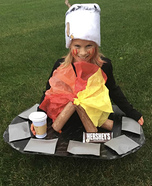 S'mores Homemade Costume
