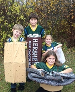 S'mores Kids Homemade Costumes