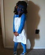 Homemade Smurf Costume