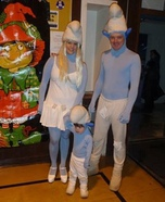 Homemade Smurfs Costumes