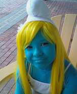 Smurfette Homemade Costume