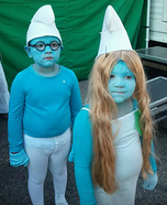 DIY Smurfs Costumes