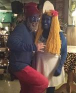 Smurfs Homemade Costume