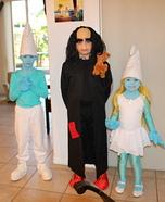 Smurfs & Gargamel Homemade Costume