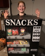 Snack Machine Homemade Costume