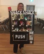 Snack Shack Homemade Costume
