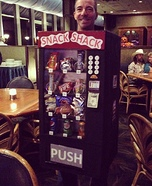Snack Shack Vending Machine Homemade Costume