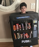 Snack Time Vending Machine Homemade Costume