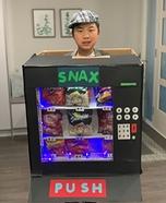 Snack Vending Machine Homemade Costume