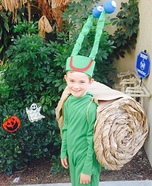 Snail Homemade Costume