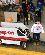 Snap-on Dealer Homemade Costume