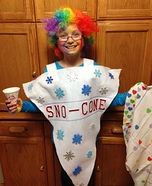 Sno-cone Homemade Costume