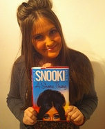 Homemade Snooki Costume