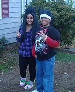 Snooki and Pauly D Costumes