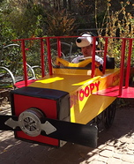 Snoopy Flying Ace Homemade Costume