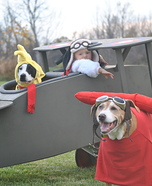 Snoopy & Woodstock vs. The Red Baron Homemade Costume