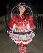 Snow Globe Halloween Costume Idea