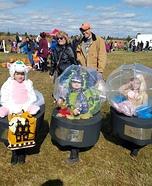 Snow Globe Family Homemade Costume