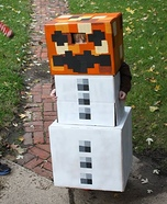 Minecraft Snow Golem Costume