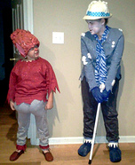 Snow Miser and Heat Miser Homemade Costumes