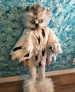 Snow Owl Homemade Costume