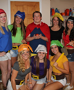 Snow White and his Seven Dwarfs Homemade Costume