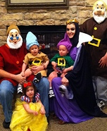Snow White and Dwarfs Family Costume